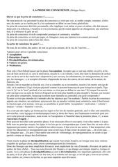Fichier PDF la prise de conscience