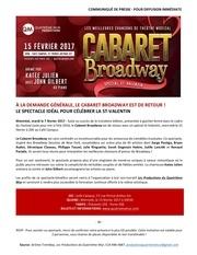 communique cabaretbroadway