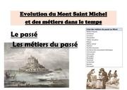 evolution du mont saint michel et des metiers