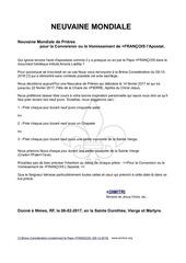Fichier PDF premiere neuvaine mondiale du 14 02 au 22 02