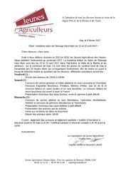 courrier d accompagnement