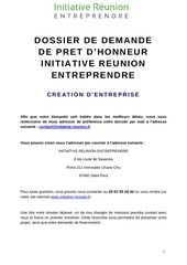 Fichier PDF dossier de demande creation maj 012017