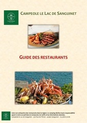 guide restaurants