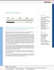 Fichier PDF isweek fos n strain sensor fiber optic strain sensor
