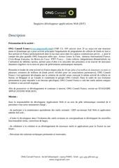 Fichier PDF offre de stage de veloppeur applications web h f