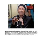 retranscription du recit de vie pierrette dijoux 93 ans