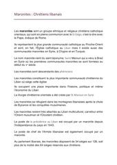 Fichier PDF maronites chretiens libanais