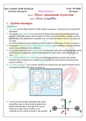 cours 1 forces et equilibre eleve