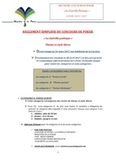 Fichier PDF reglement simplifie du concours de poesie