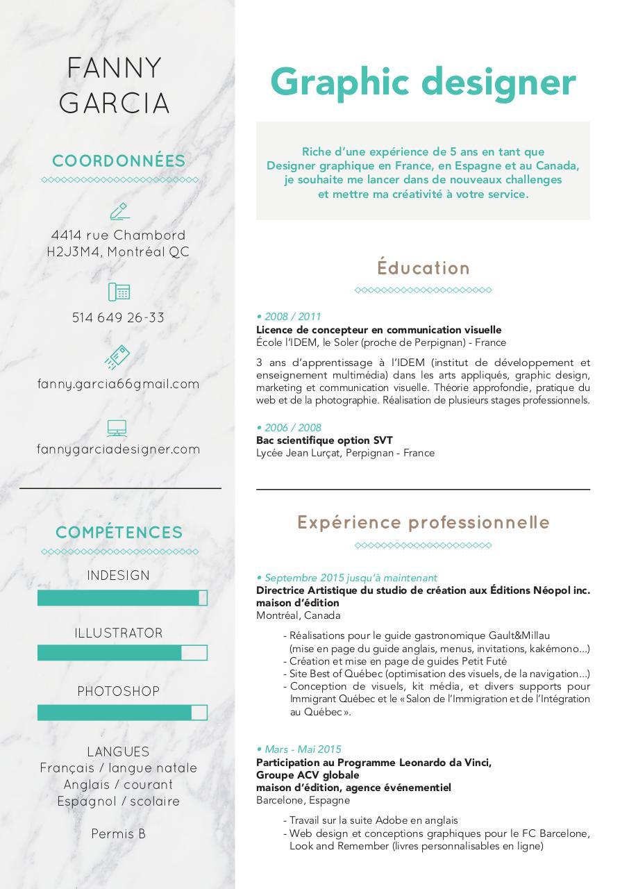 cv designer junior - page 1  1