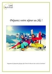 livret preparez votre sejour au ski 1