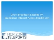 Fichier PDF direct to home broadcast