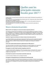 loi finances 2017
