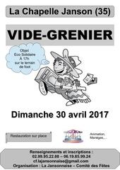 affiche vide grenier 2017