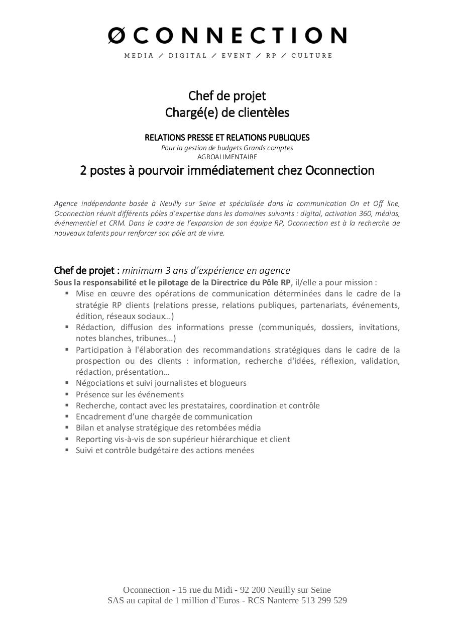 Annonce recrutement RP - Oconnection.pdf - page 1/2