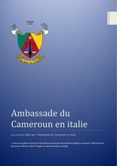 Fichier PDF services offert par l ambassade du cameroun en italie