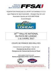2017 reglement engagement rallye national de loheac