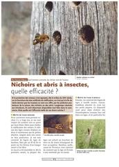 abri et nichoirs a insectes