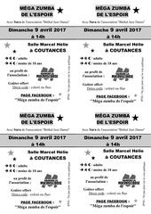 Fichier PDF flyers noir blanc