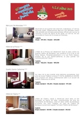 Fichier PDF presentation des hotels