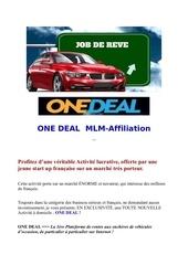 one deal presentation novais