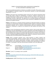 3 postdoc positions in electrochemistry grenoble