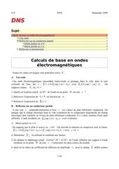 coefficients de reflexion et de transmission 1