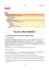 effet faraday dans un plasma