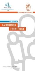 la donation entre epoux mai 2016