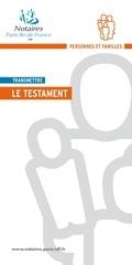 Fichier PDF pdf testament