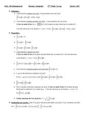 resume integrales