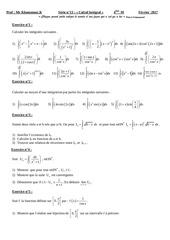 serie calcul integral