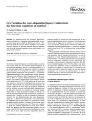 Fichier PDF dopamine