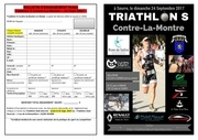flyer triathlon de seurre 2017 relais