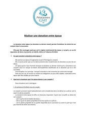 Fichier PDF realiser donation entre epoux