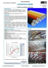 acousticylindre