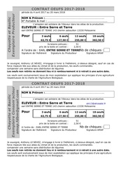 contrat oeufs chay 2017 18