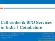 inbound call services india