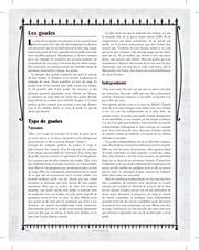 regles pour les goules edition 20e anniversaire