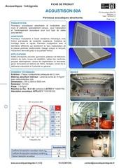 Fichier PDF acoustison 50 a