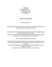 Fichier PDF lettre de mlotivation