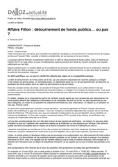 2017 02 affaire fillon detournement de fonds u pas
