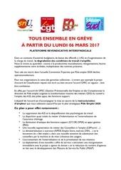 cgt snu fo sud 6 mars 2017 tous en greve