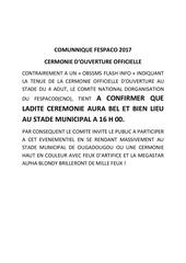 comunnique17