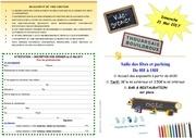 flyer vide grenier 2017