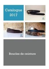 catalogue 2017 boucles ceinture