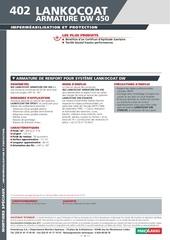 Fichier PDF 402 lankocoat armature dw 450