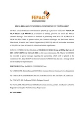 fepaci press release english