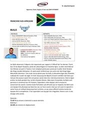franchise sud africaine pb