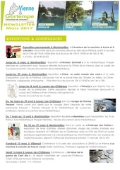 newsletter mars 2017 office de tourisme vienne et gartempe